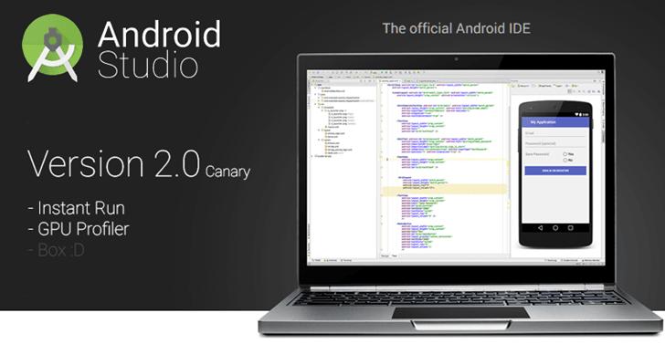 Android Studio 2 Çıktı