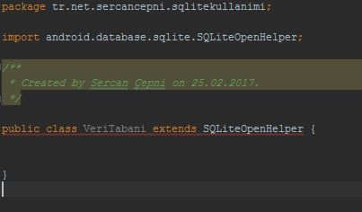 extends SQLiteOpenHelper
