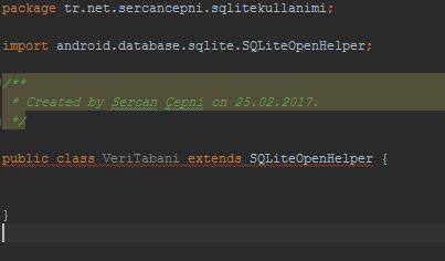 extends SQLiteOpenHelper